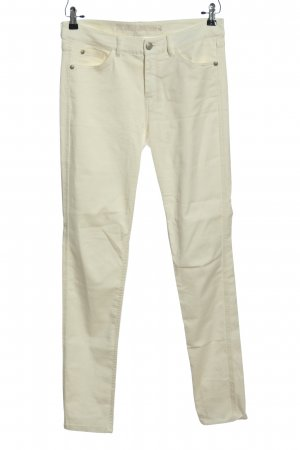 Sienna Spodnie z pięcioma kieszeniami biały W stylu casual