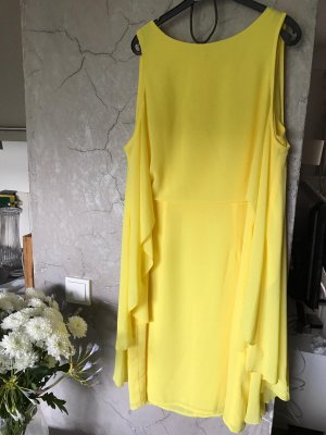 Sienna Chiffon Dress yellow