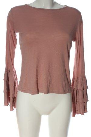 Sienna Langarm-Bluse pink Casual-Look