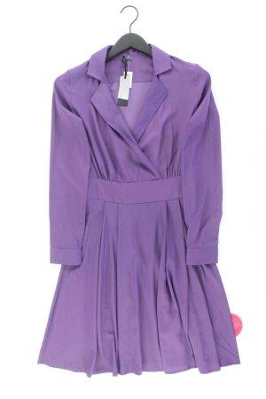 Sienna Langarmkleid Größe 34 neu mit Etikett lila aus Polyester