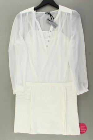 Sienna Langarmkleid Größe 38 neu mit Etikett weiß aus Polyester