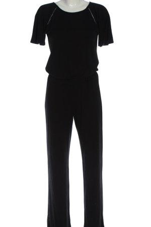 Sienna Langer Jumpsuit nero stile classico