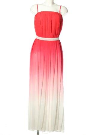 Sienna Maxikleid pink-weiß Farbverlauf Casual-Look