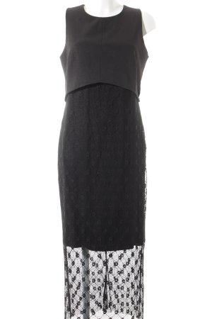 Sienna Maxikleid schwarz Elegant