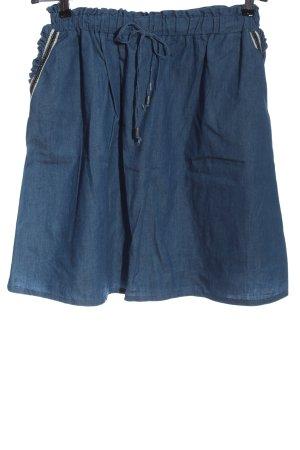 Sienna Minirock blau Casual-Look