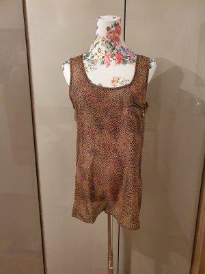 Sienna Camicia a tunica nero-bronzo