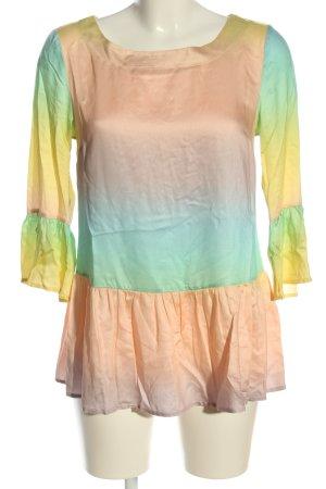 Sienna Langarm-Bluse Farbverlauf Casual-Look
