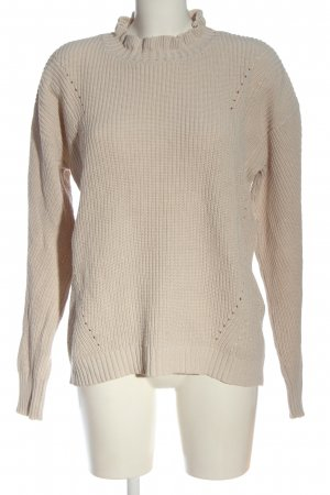 Sienna Crewneck Sweater natural white casual look
