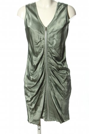 Sienna Tube Dress silver-colored elegant