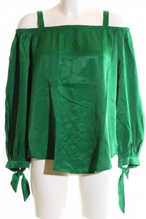 Sienna Slip-over Blouse green casual look