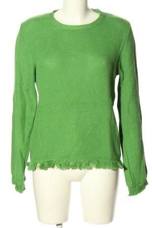 Sienna Strickpullover grün Casual-Look