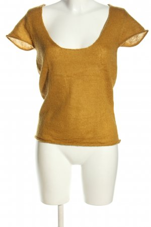 Sienna Knitted Jumper light orange casual look