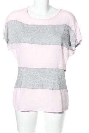 Sienna T-Shirt pink-hellgrau meliert Casual-Look