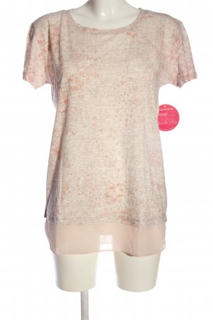Sienna T-Shirt nude meliert Casual-Look