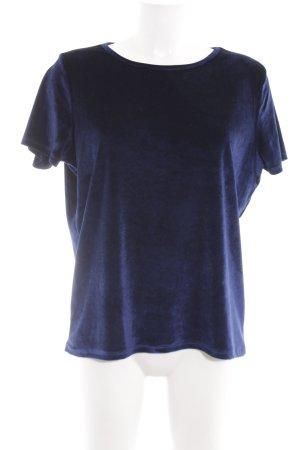 Sienna T-Shirt blau Casual-Look