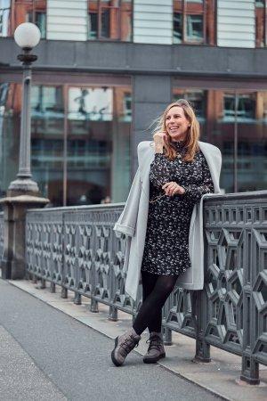 Sienna Winterboots Boots Stiefeletten grau 39 gefüttert Winterstiefel Stiefel neuwertig