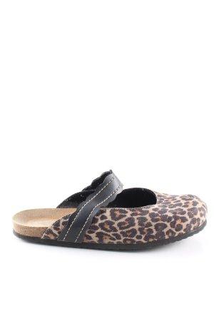 siesta Scuffs leopard pattern extravagant style