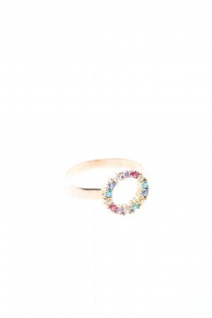 """Sif Jakobs Statement Ring """"Biella Piccolo Ring"""" gold-colored"""