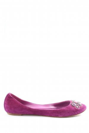 Sigerson morrison Opbouwbare ballerina's lila casual uitstraling