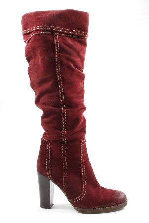 Sigrun Woehr High Heel Boots red elegant