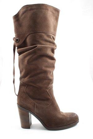 Sigrun Woehr High Heel Boots brown casual look