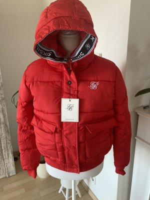 SikSilk Tape Padded Jacket - Red