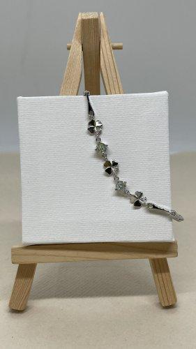 925 Braccialetto sottile argento