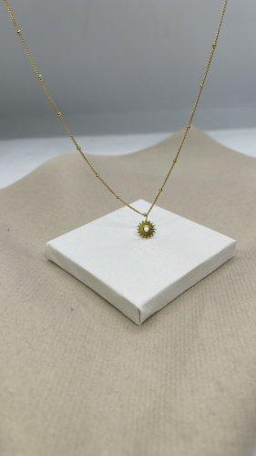 Silber 925 Halskette Gold verstellbar neu