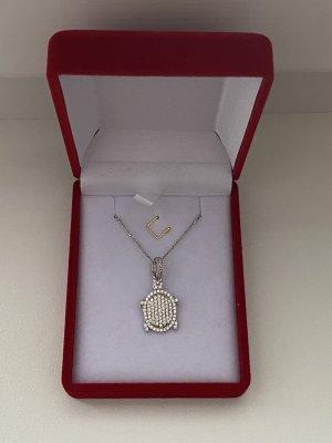 Silber 925 Halskette mit Anhänger neu mit Verpackung hochwertig