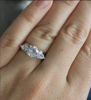 Silber 925 Ring mit Zirkonia (NEU)
