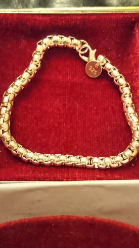 Silber Armband 925 - 20 cm lang.