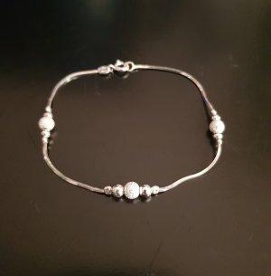925er Silber Pulsera gris claro