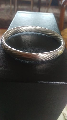 Mouwband wit Zilver