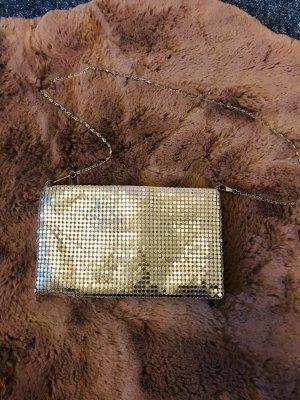 Silber clutch Tasche
