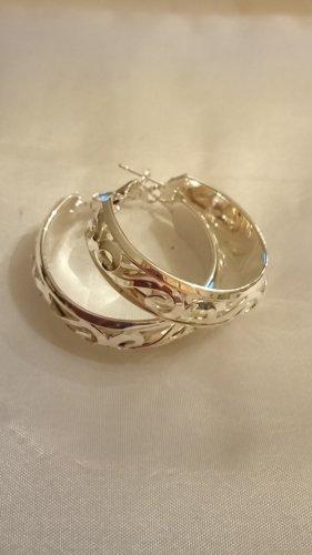 Silber Creolen Durchmesser 3,5 cm