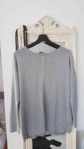 Gerry Weber Fine Knit Jumper silver-colored-light grey
