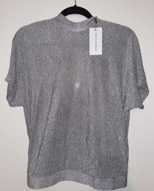 Jacqueline De Young Blouse Shirt silver-colored