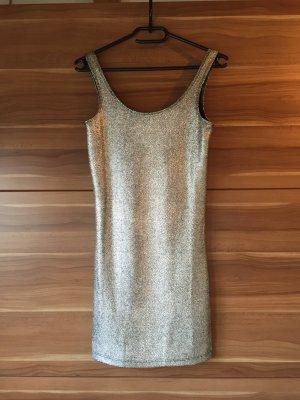 Silber glänzendes Kleid von ONLY