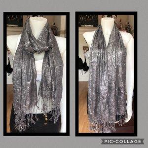 Neckerchief silver-colored-grey