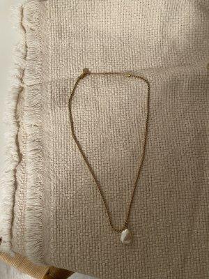 Silber gold halsketten