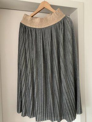 altea Plaid Skirt silver-colored