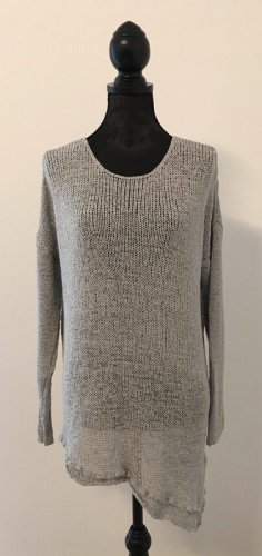 H&M Divided Gehaakte trui zilver-lichtgrijs