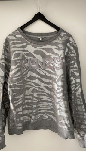 Silber grauer Kenzo Pullover