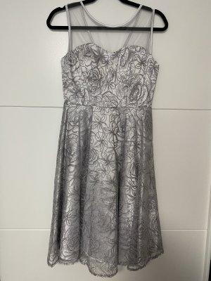 Silber/Graues Kleid