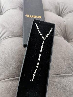 Silber Halskette mit Anhänger J