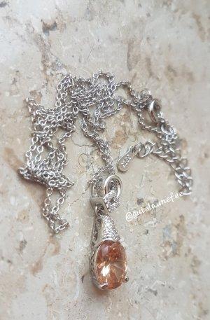 Silber Cadena de plata multicolor