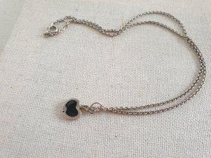 Silber Kette Apfel Anhänger Halsschmuck Halskette Schmuck