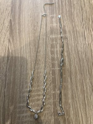 Silber Kette mit Armband