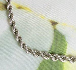 keine Marke Catena d'argento argento