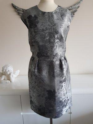 Silber-metall farbenes Cocktailkleid von Esprit